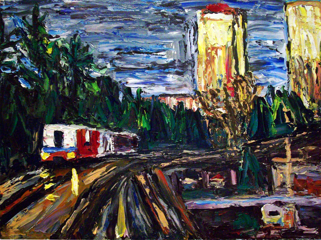 forrest_morning_skytrain_burnaby_bc_oil_on_canvas_panel_11x14_2015